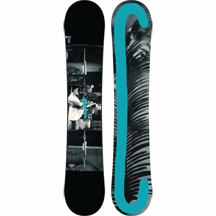 Burton Custom Twin 2017 Pure Pop Camber