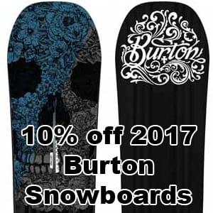 Burton Snowboard 2017 Sale