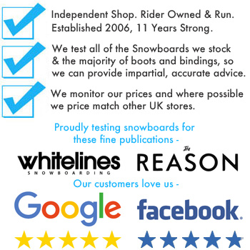 Why Shop at The Snowboard Shop