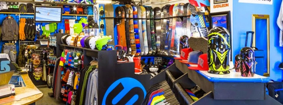 Inside The Snowboard Shop