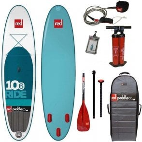 """Red Paddle Co Ride 10'6"""" 2016 SUP Glass Package"""