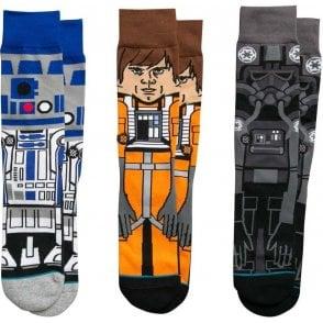 Stance Star Wars Socks - A New Hope Triple Pack
