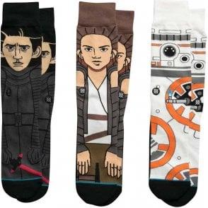 Stance Star Wars Socks - The Force Awakens Triple Pack