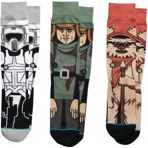 Stance Star Wars Socks - Return of the Jedi Triple Pack