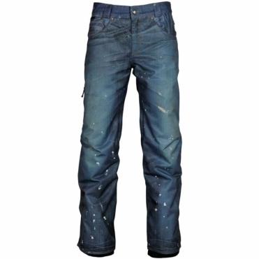 Deconstructed Denim Pants