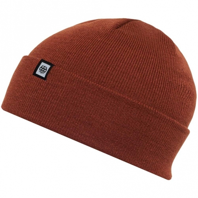 Standard Beanie - Rusty Red