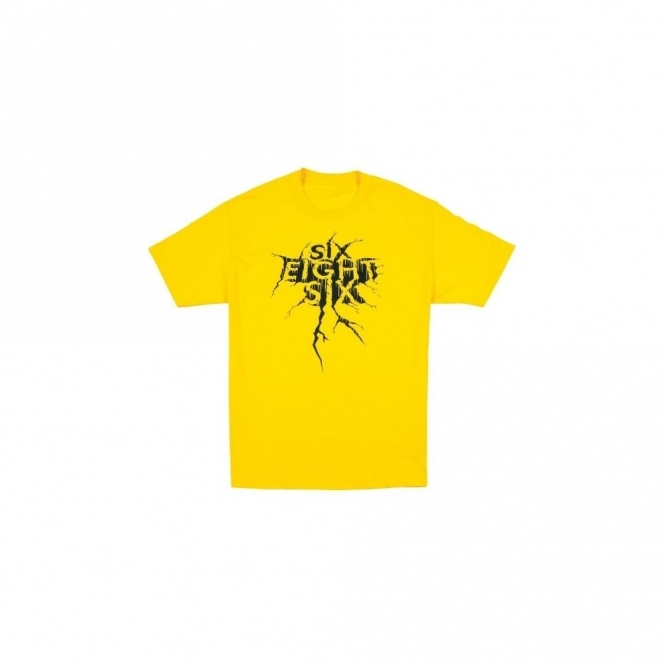 686 Tremors Regular Tee - Yellow