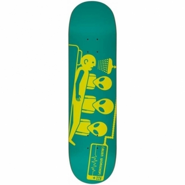 Logo Deck Dayglo Abduction - 8.125""