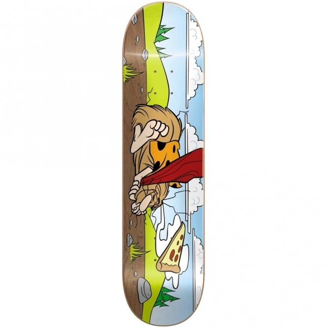 Almost Napping Caveman Skateboard 8.375""