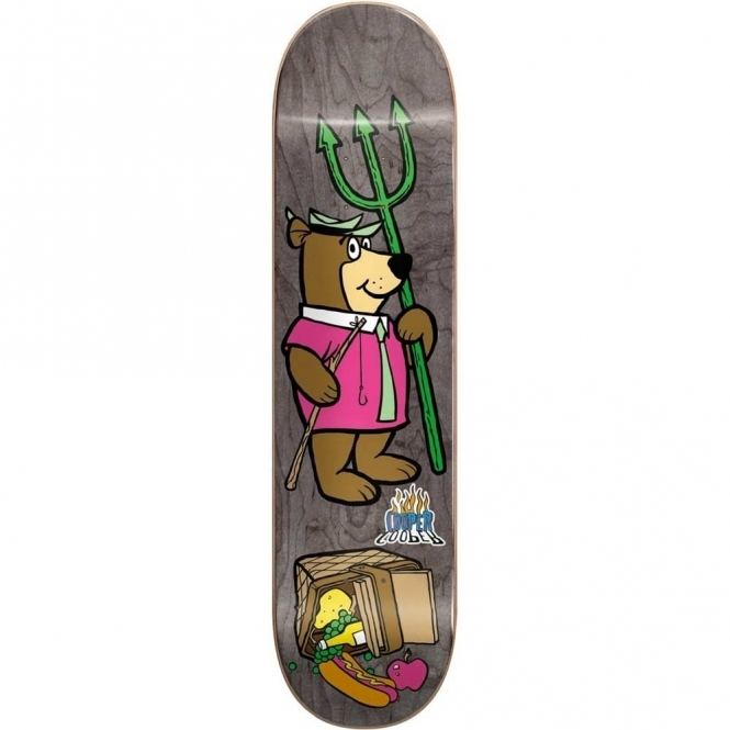 Almost Yogi Bear Picnic Skateboard 8.125""