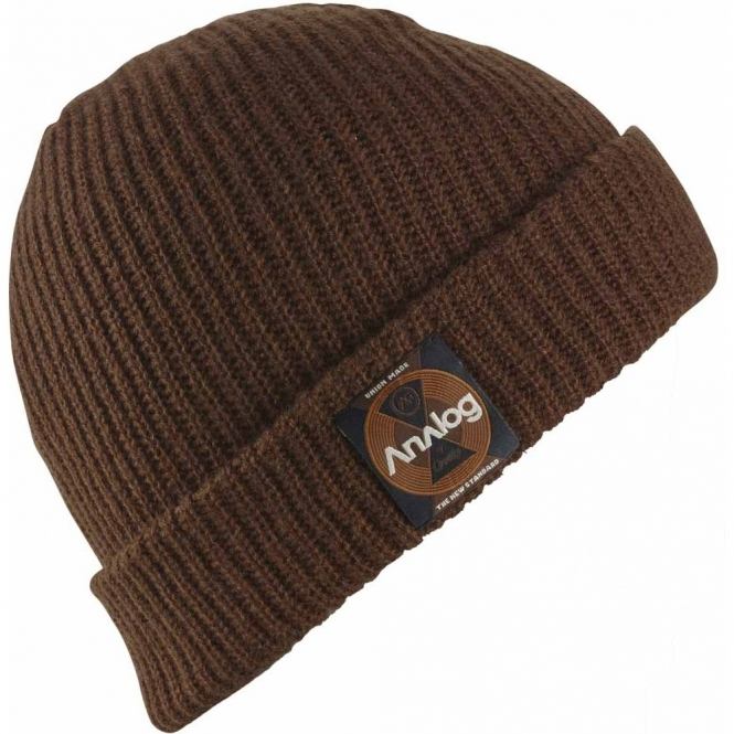 Analog Blowout Slouch Beanie - Shale