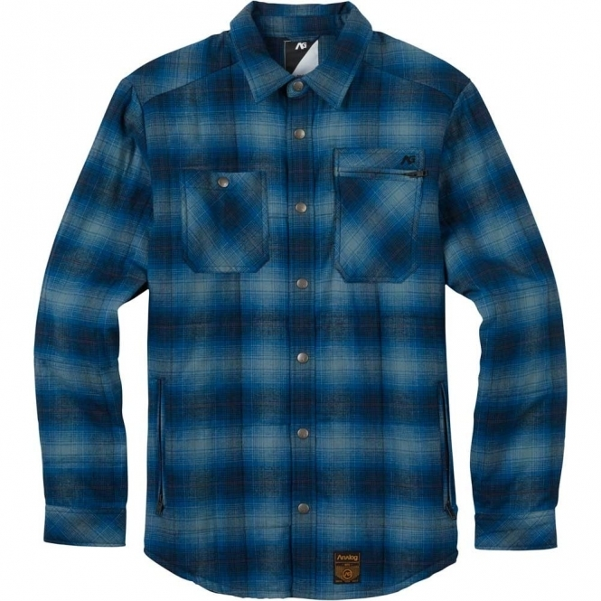 Analog Bowery Quilted Flannel Shirt