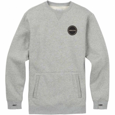 Analog Enclave Crew - Grey Heather
