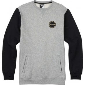 Analog Enclave Riding Crew - Grey Heather