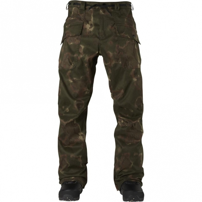 Analog Field Snowboard Pants - Ink Blot Camo