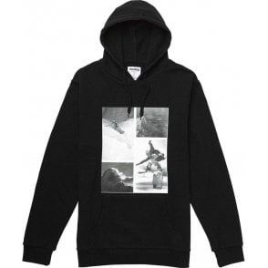 Analog PLA Hooded Pullover - Black