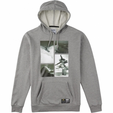 PLA Hooded Pullover - Grey