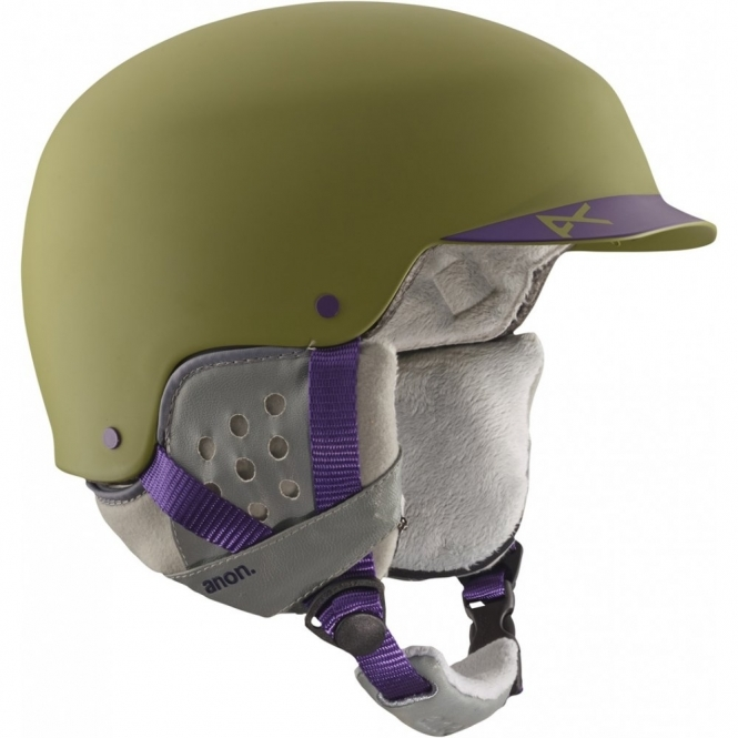 Anon Aera Snowboard Helmet - Pellow Green