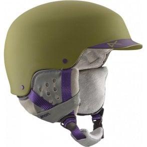 Aera Snowboard Helmet - Pellow Green