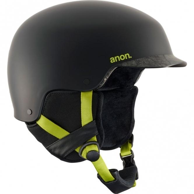 Anon Blitz Snowboard Helmet - Cracked Black