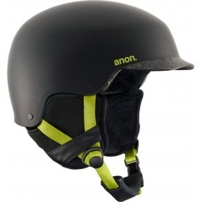 Anon Blitz Snowboard Helmet - Cracked Black