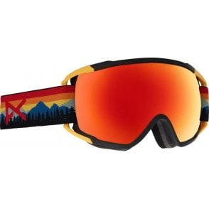 Anon Circuit Goggles - 2018 Range Orange / Zeiss Sonar Red