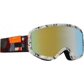 Deringer MFI Snowboard Goggles - 2017 L.A.M.B. / Gold Chrome