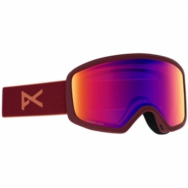 Anon Deringer Women's Goggles - 2020 Ruby / Sonar IR Blue