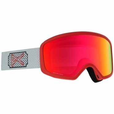 Anon Deringer Women's Goggles - 2020 White Rose / Sonar Red