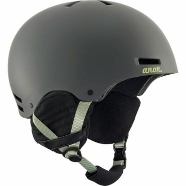 Greta Snowboard Helmet - Grey