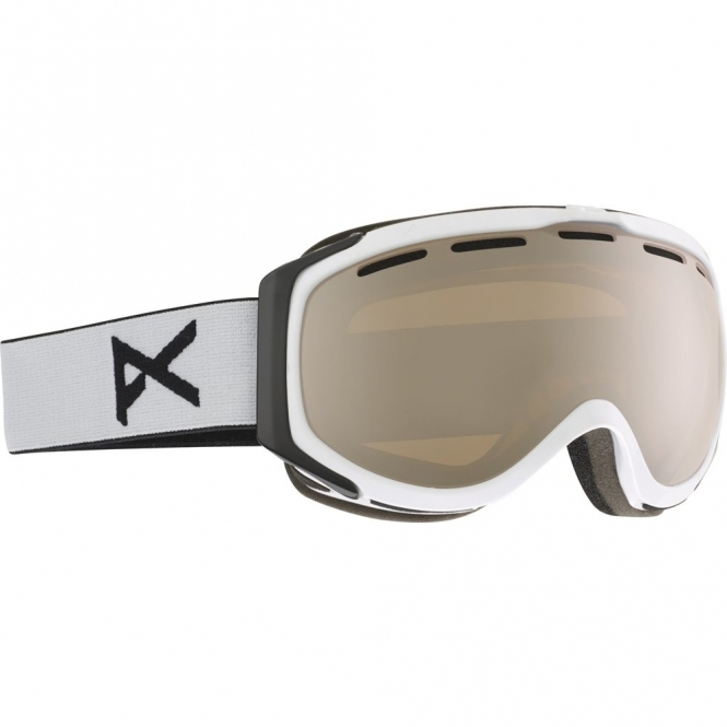 Anon Hawkeye Goggles - White/Silver Amber