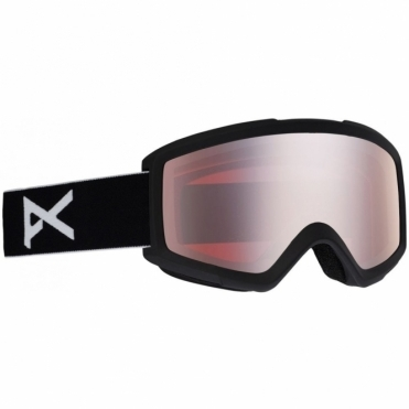 Anon Helix 2.0 Goggle - Black/Silver Amber