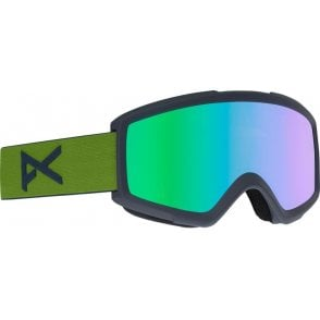 Helix 2.0 Goggle -  Forest Green/Green Solex