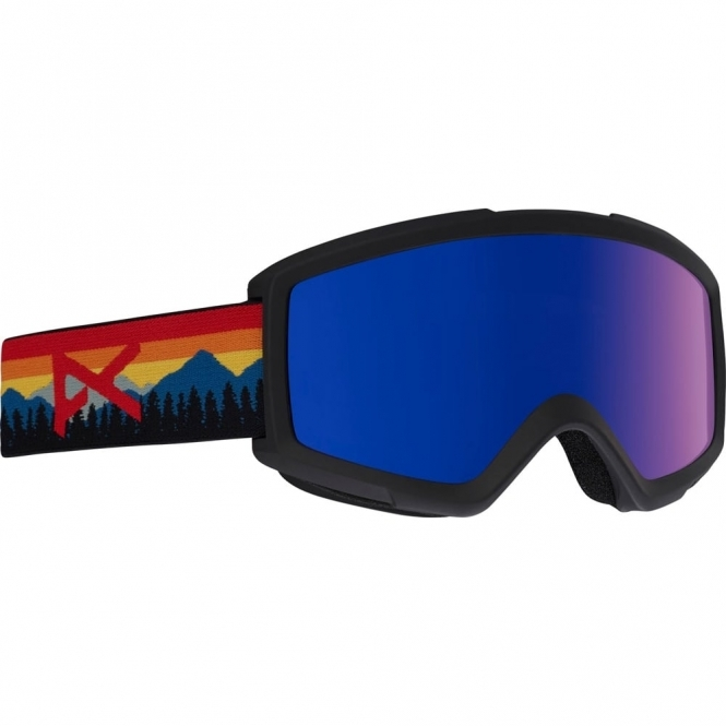 Anon Helix 2.0 Goggle - Range Orange/Blue Cobalt