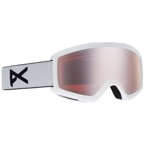 Anon Helix 2.0 Goggle - White/Silver Amber