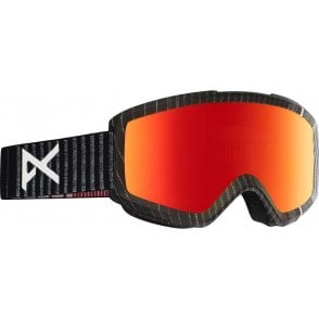 Anon Helix 2.0 Goggles - Stryper / Red Solex