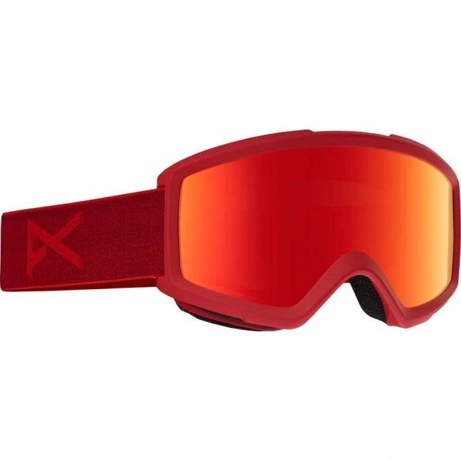 Anon Helix 2.0 Snowboard Goggles - 2017 Blaze / Red Solex