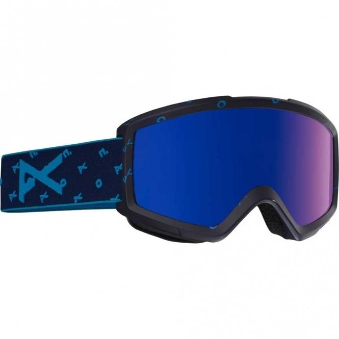 Anon Helix 2.0 Snowboard Goggles -  2017 Logonet / Blue Cobalt