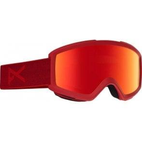Anon Helix 2.0 Snowboard Goggles - Blaze / Red Solex