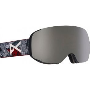 Anon M2 Goggles - 2018 Red Planet / Silver Solex