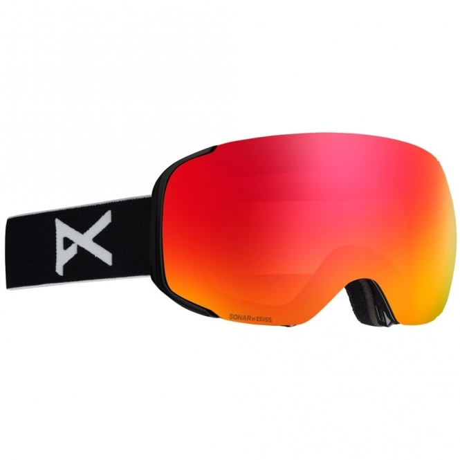 Anon M2 Goggles - 2020 Black / Sonar Red