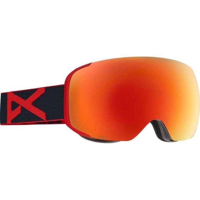 Anon M2 Snowboard Goggles - 2017 Redeye / Red Solex