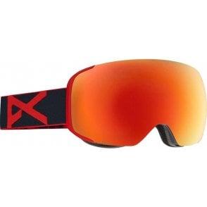 M2 Snowboard Goggles - 2017 Redeye / Red Solex