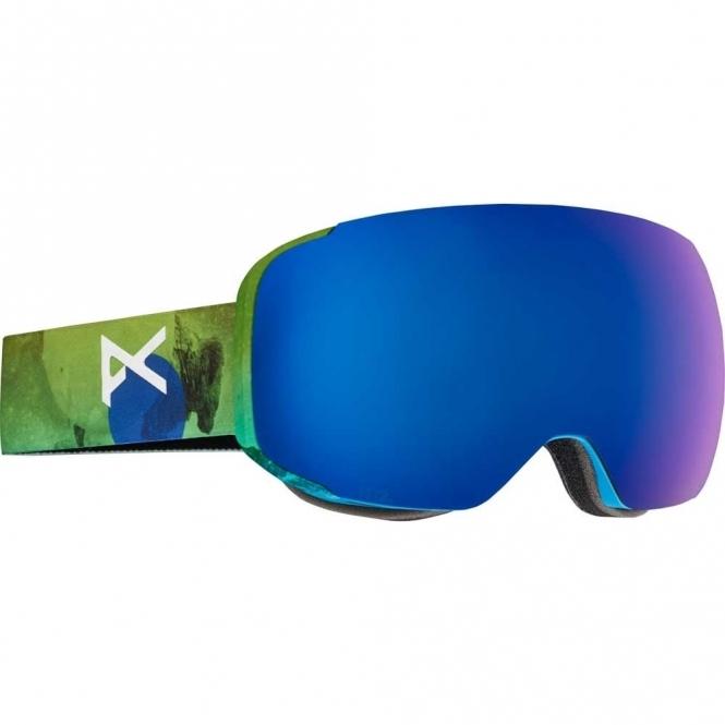 Anon M2 Snowboard Goggles - 2017 Tatonka / Blue Cobalt