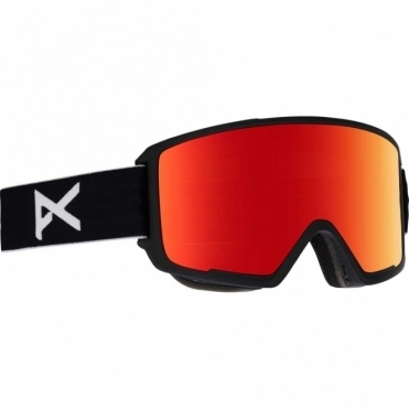 Anon M3 Goggles - 2018 Black / Red Solex