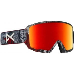 Anon M3 MFI Goggles - 2019 Red Planet / Sonar Red