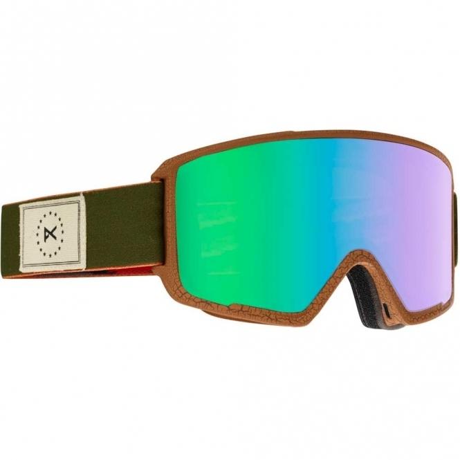 Anon M3 MFI Snowboard Goggles - 2017 Wellington / Green Solex