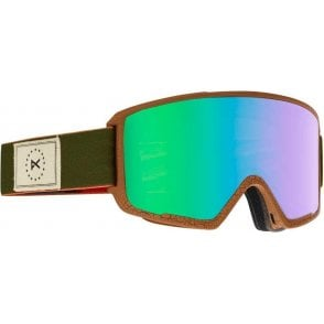 M3 MFI Snowboard Goggles - 2017 Wellington / Green Solex