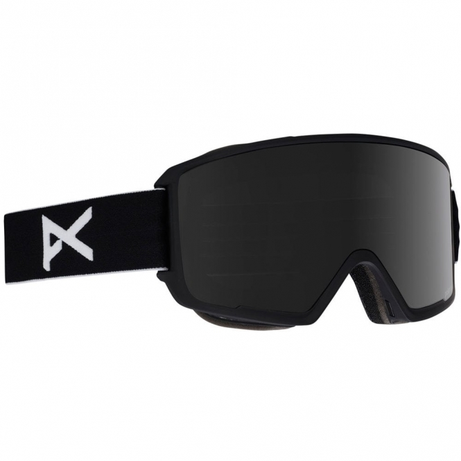 Anon M3 Polarised Goggles - 2019 Black / Polarised Smoke