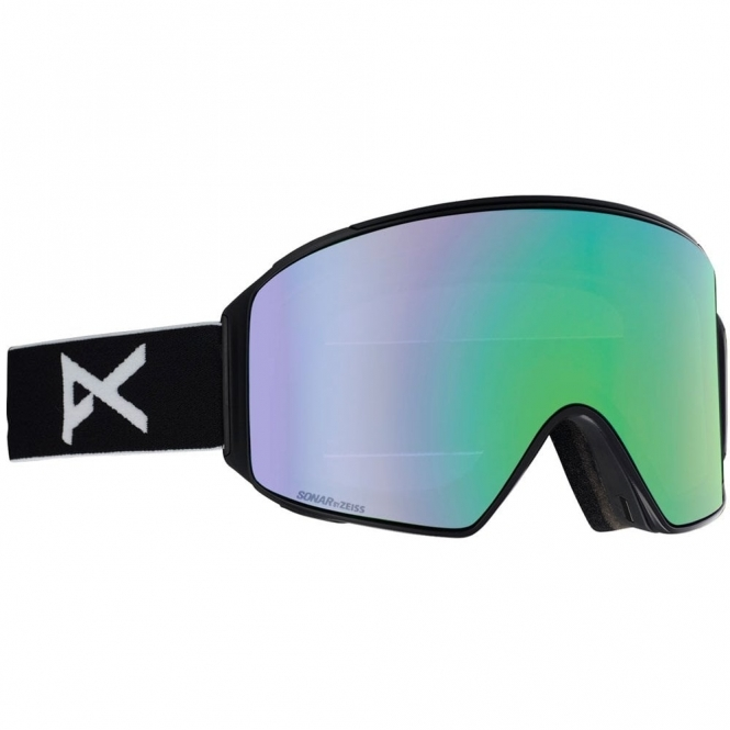 Anon M4 Goggles - Cylindrical Black / Sonar Green